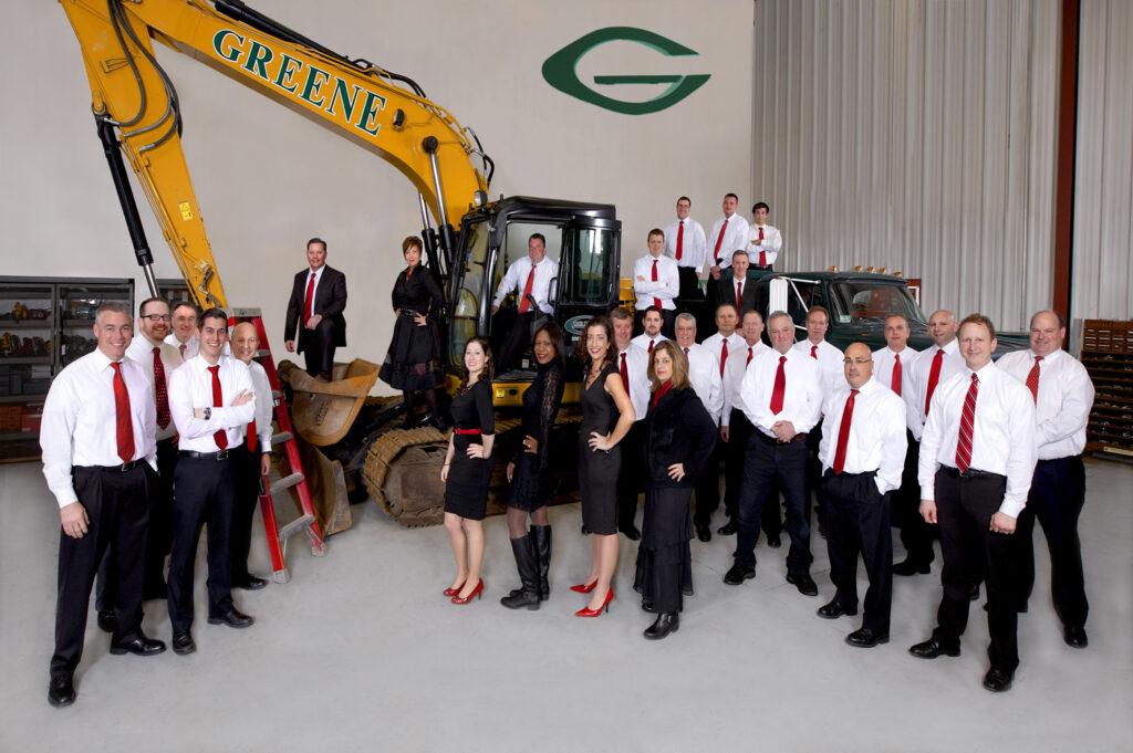 Greene construction group photo